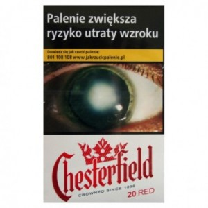 CHESTERFIELD RED 20