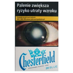 CHESTERFIELD BLUE 20