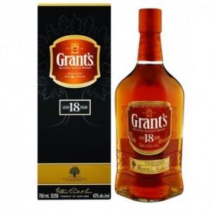 WHISKY GRANT'S 18 YO 0.7L 40%