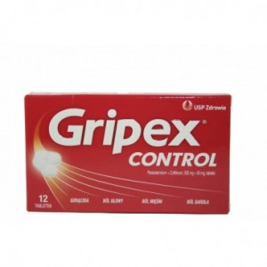 TABLETKI GRIPEX CONTROL 12...