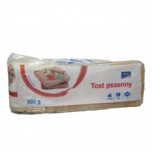CHLEB TOSTOWY 500G ARO