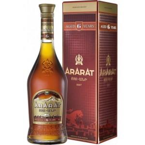 BRANDY ARARAT 6*ANI 0,7L...