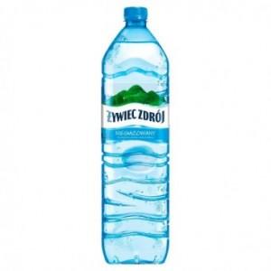 ŻYWIEC WODA 1.5L N/GAZ