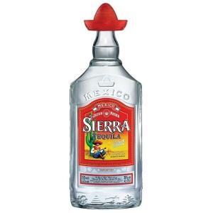 TEQUILA SIERRA SILVER 38% 0,7L